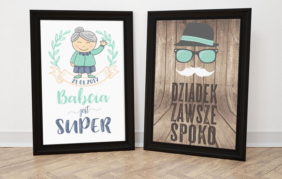 DIY: Darmowe plakaty na Dzień Babci i Dziadka do wydruku