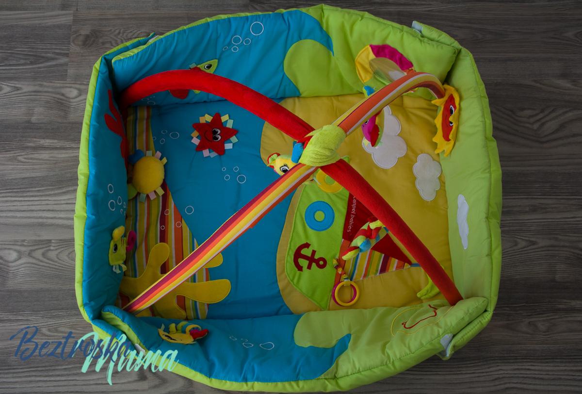 Mata edukacyjna 3w1 kolorowy ocean od Canpol Babies – recenzja