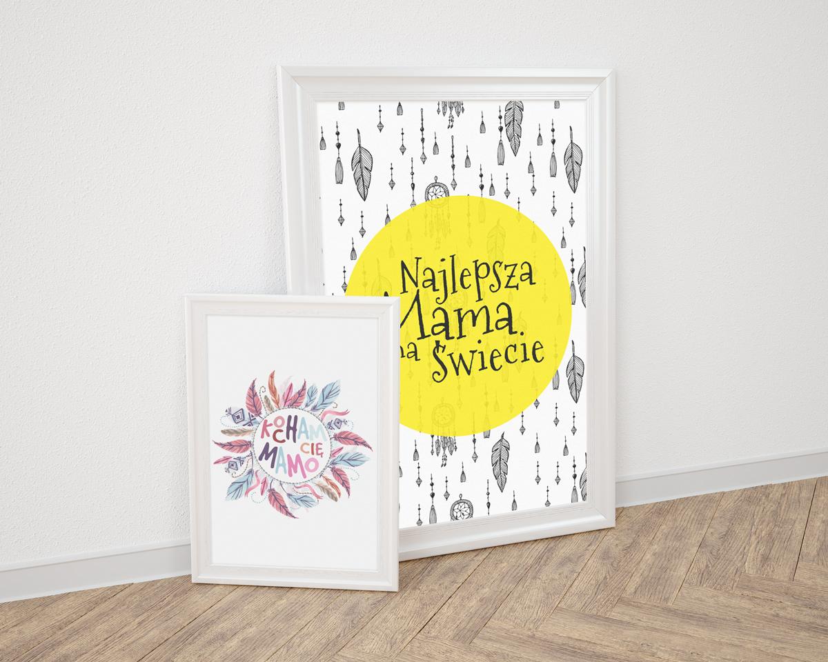 DIY: Darmowe grafiki na Dzień Matki do druku – plakaty, kartki, winietki