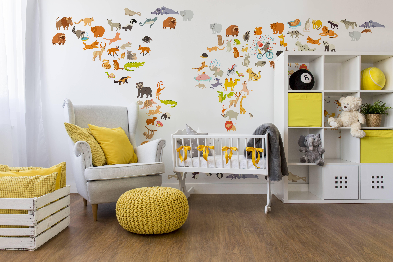 Tapety na ścianie w pokoju dziecka? Ja jestem na tak!