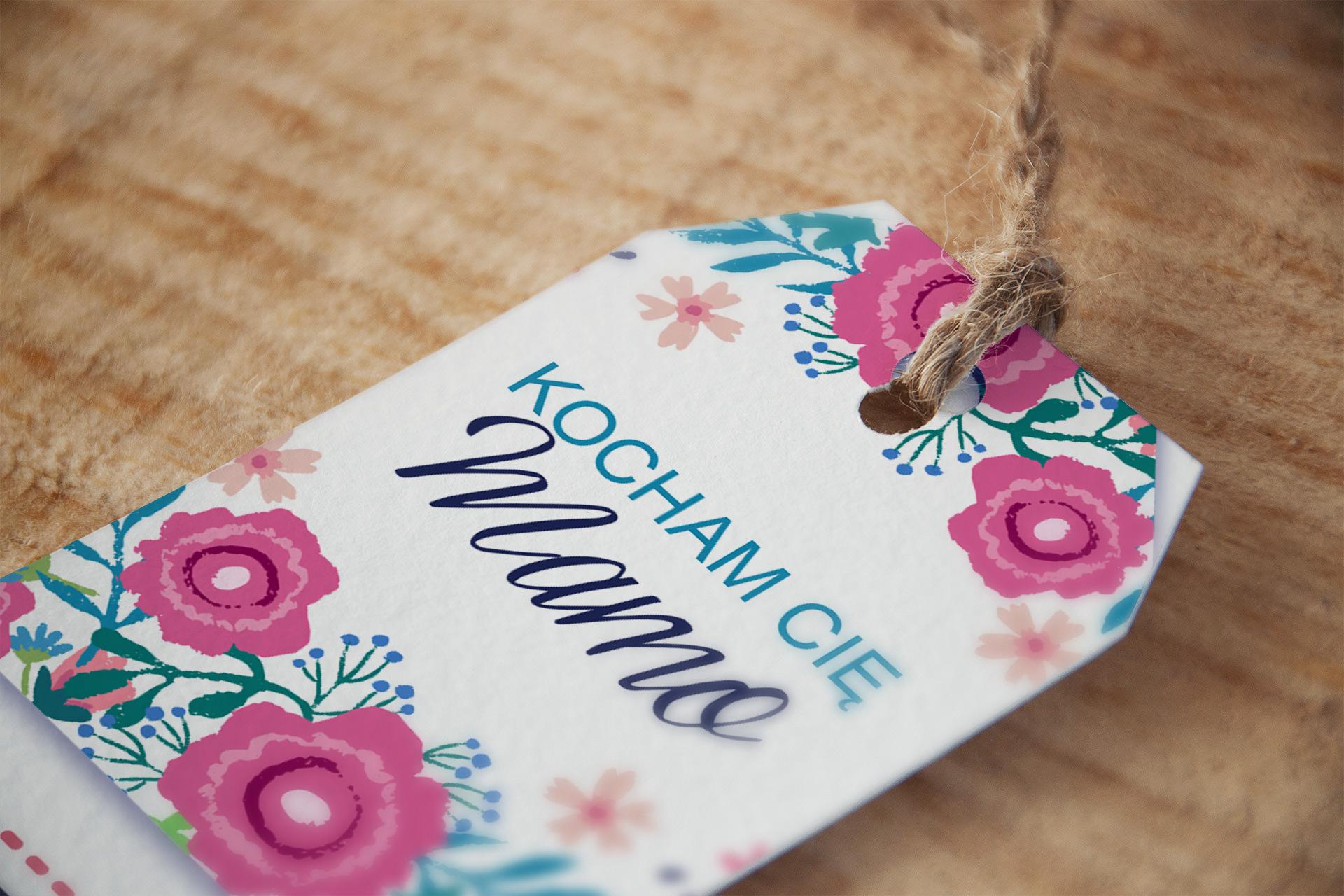 DIY na Dzień Matki: Bileciki i zawieszki na prezenty dla Mamy do wydrukowania za darmo