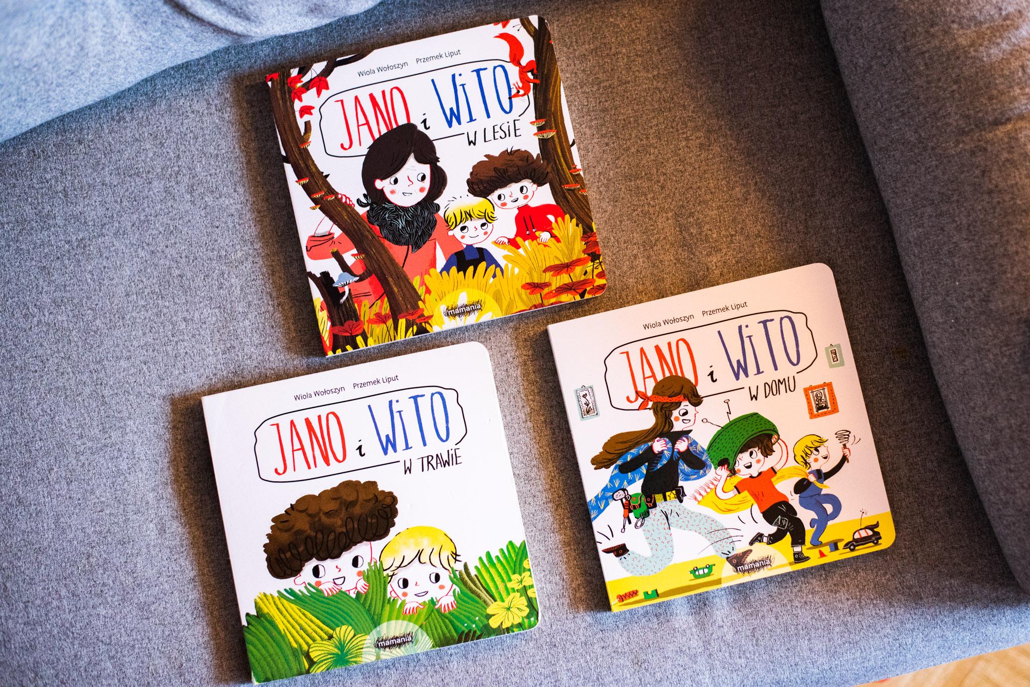 Jano i Wito – seria książeczek logopedycznych, które pokocha twoje dziecko