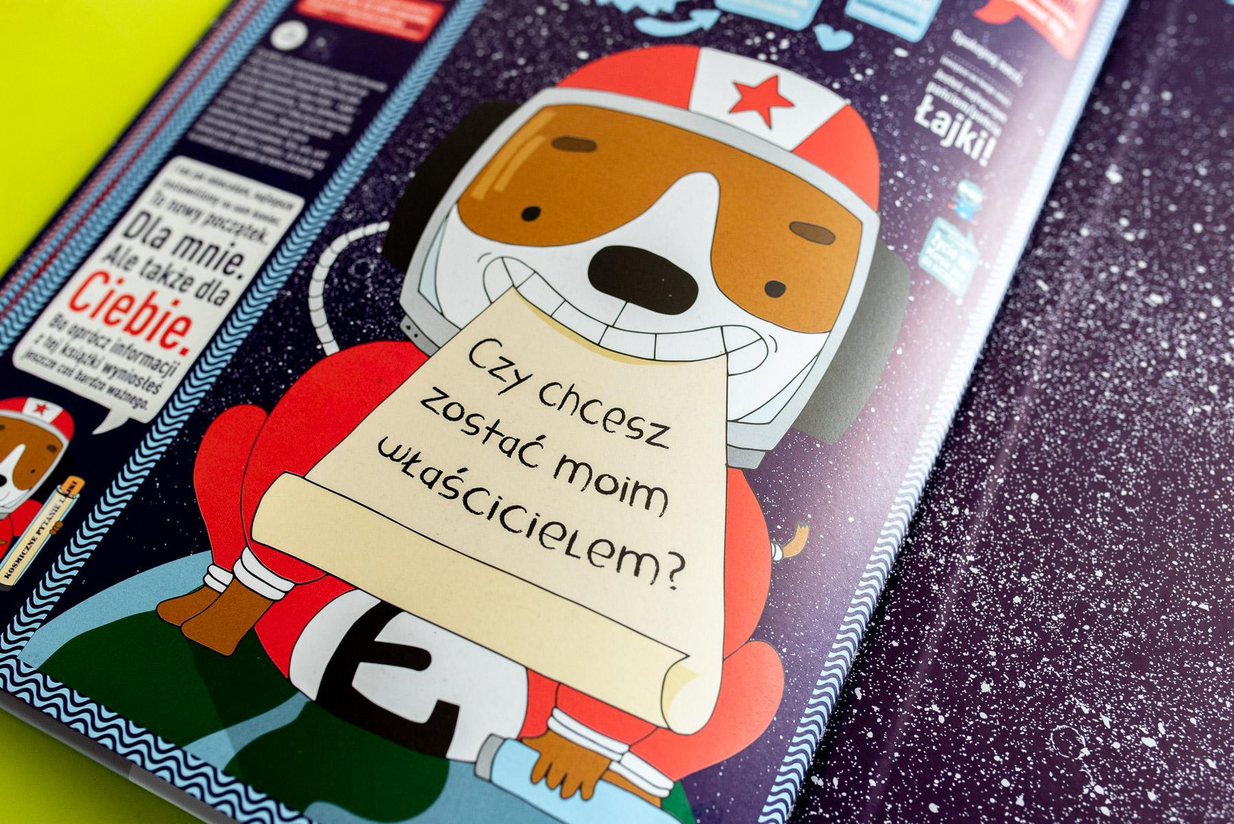 Łajka kosmiczny pies i jego przygoda życia – recenzja  poruszającej książki